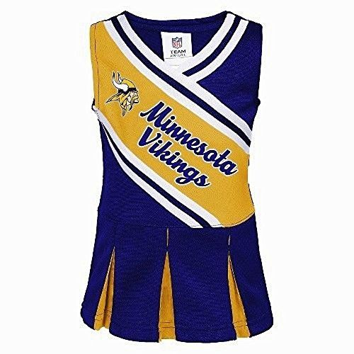 MINNESOTA VIKINGS Toddler - Cheerleader Dress  9a62590cb