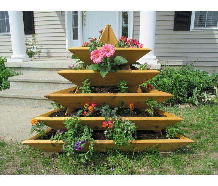Freeport Park Byrum 4 Ft X 4 Ft Cedar Vertical Garden