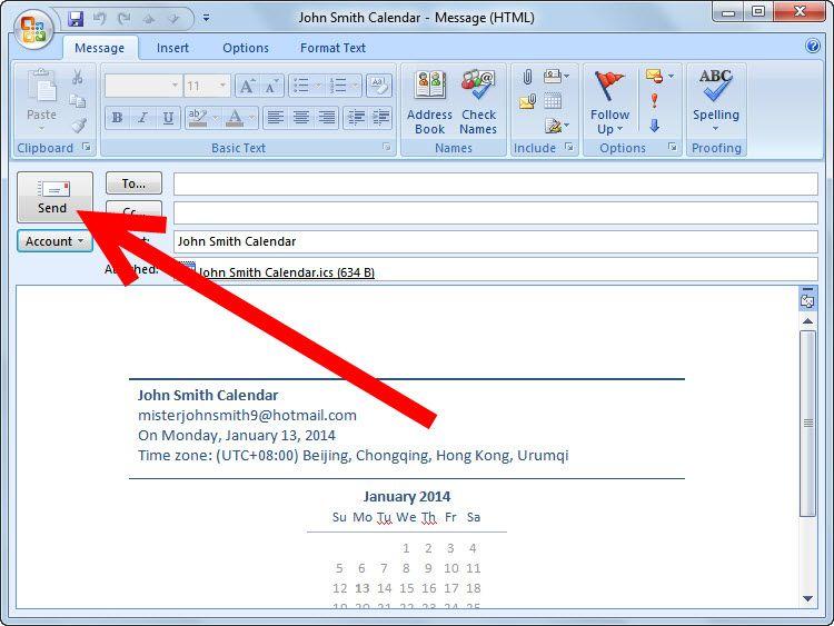 Make a Shared Calendar in Outlook