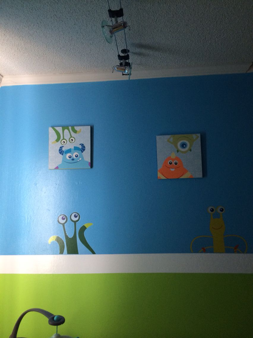 Monster Inc Paint Colors By Disney Monster Inc Baby