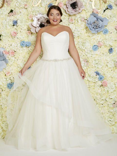 Brautkleider große Größen - Atemberaubend schön ...