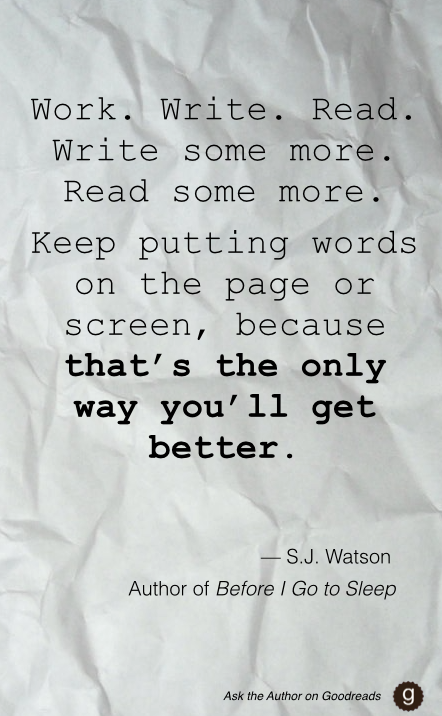 What's your advice for aspiring writers? — S.J. Watson Q&A