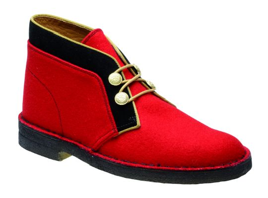 Clarks Red