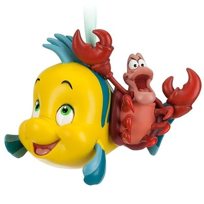 Flounder & Sebastian Sketchbook Ornament 2013 | Disney ...