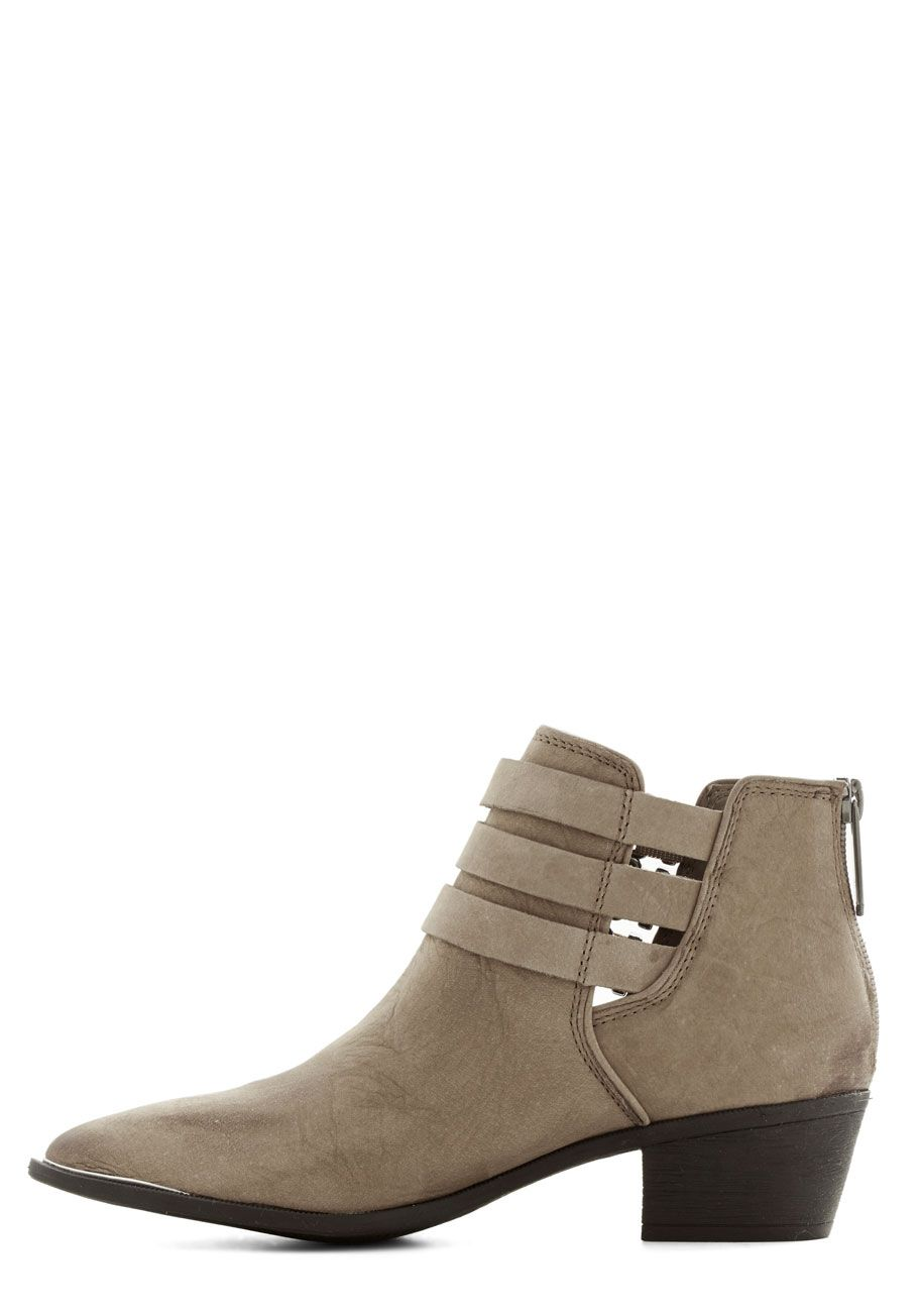 Strappy Bootie. Love.