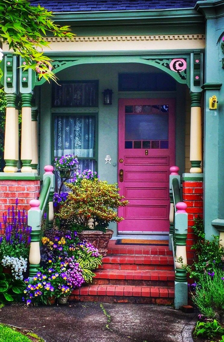 Image result for main entrance door colourful