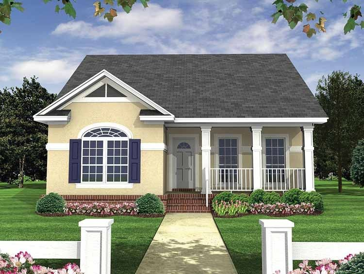 This Would Be A Perfect First Home Small Cozy Perfect Cottage Style House Plans Craftsman House Plans House Plan Gallery