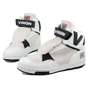 cheap for discount 35f2c c0848 Vision DV8 Hightops . Vintage Vision Street Wear Shoes . Vision Skate Shoes    eBay