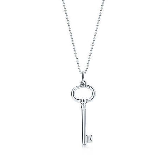 Tiffany oval key pendant sold sterling silver authentic tiffany shop necklaces and pendants at tiffany co discover silver necklaces diamond necklaces gold pendants and more audiocablefo Light gallery