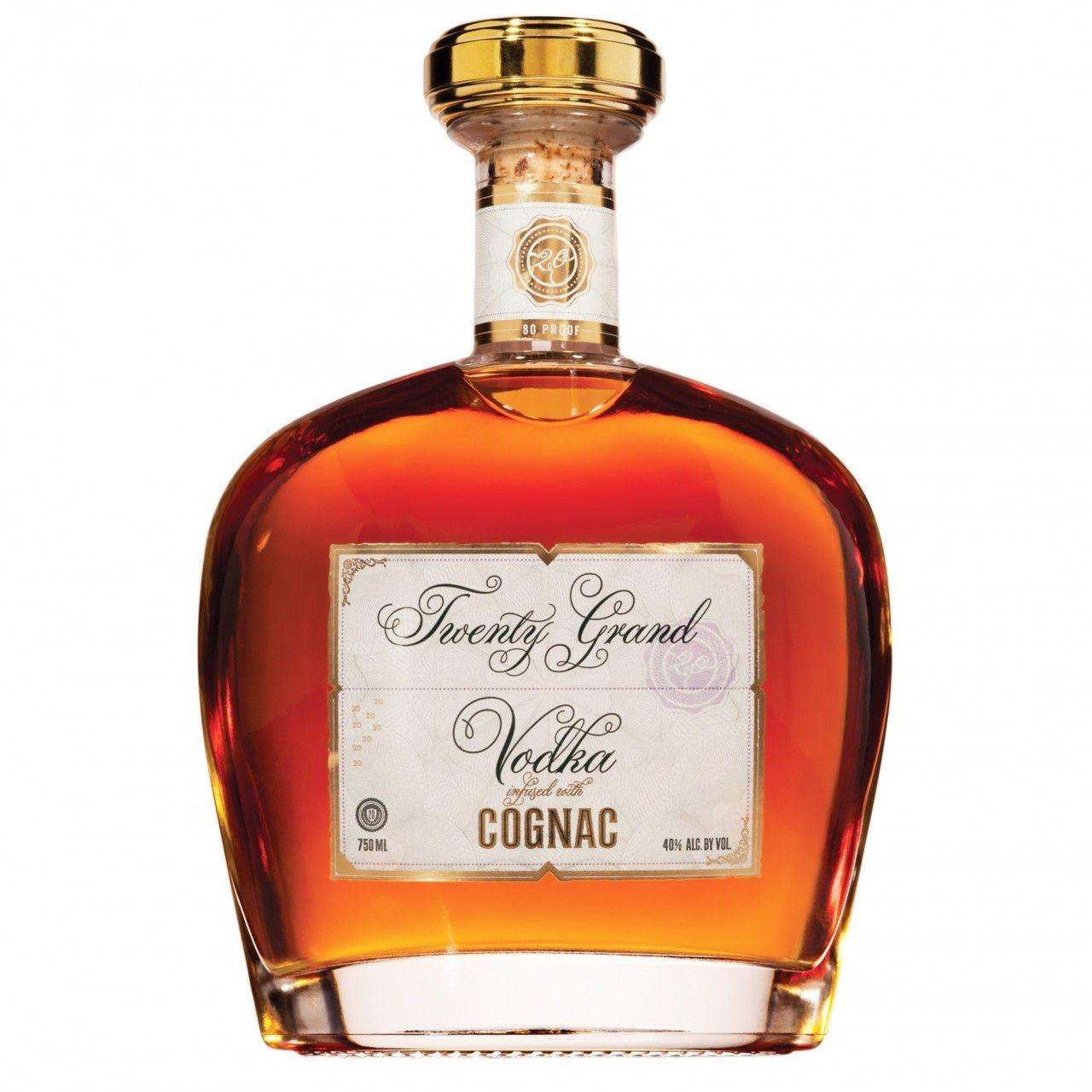 Twenty Grand Vodka Infused With Cognac 750ml Infused Vodka Vodka Wine Bottle Carrier