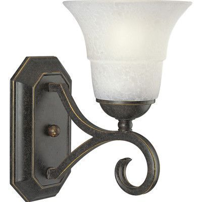 Progress Lighting Melbourne  Wall Sconce  in Expresso
