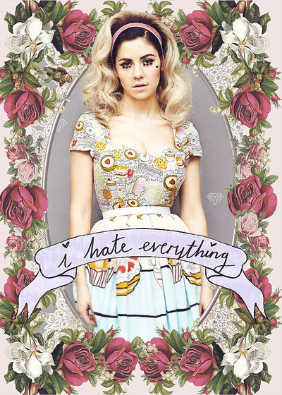 Question of the day: what's your favorite marina and the diamonds song?? :D Xx
