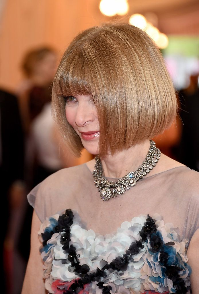 Anna Wintour Bob, but longer version...