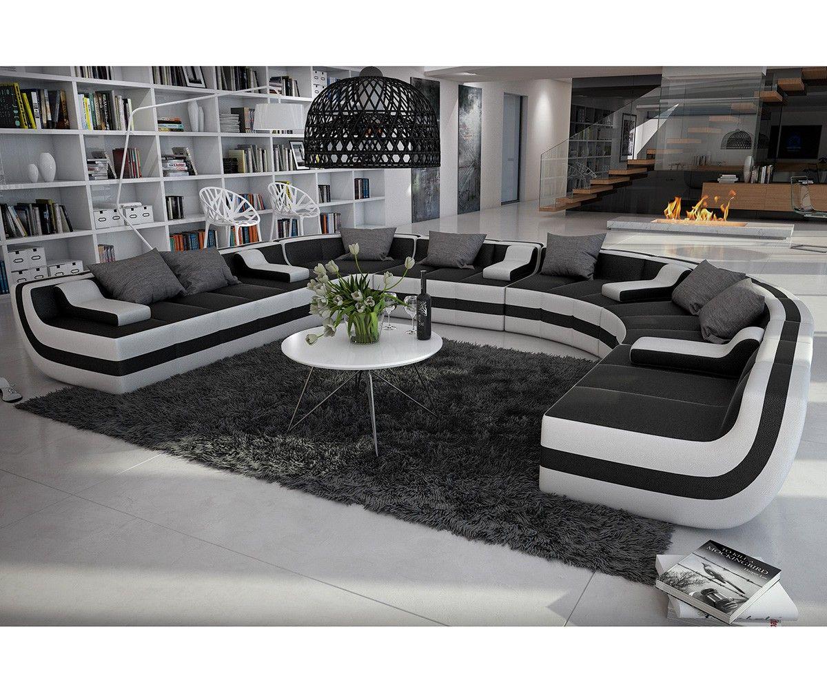 Die #Wohnlandschaft Valley   Ein Kunstwerk In Schwarz Weiß! Für Dich Auf: