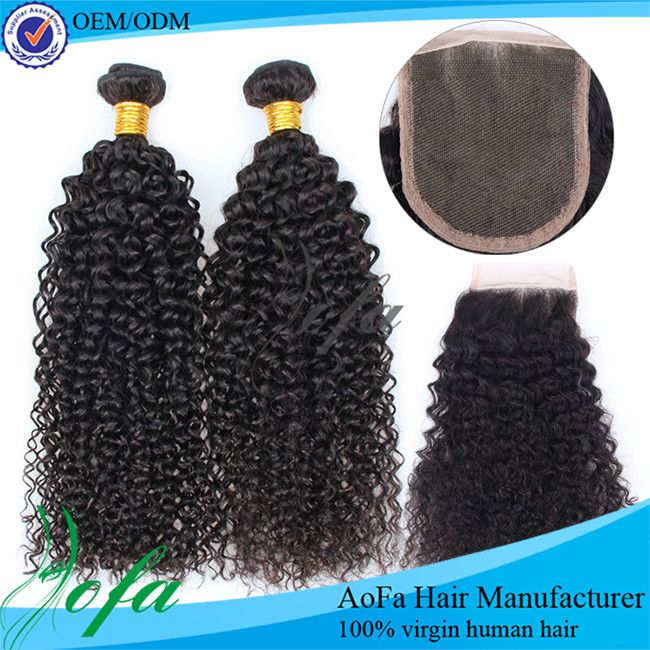 100 Pure Indian Hair Tight Curly Hair Extensions And Free Weave