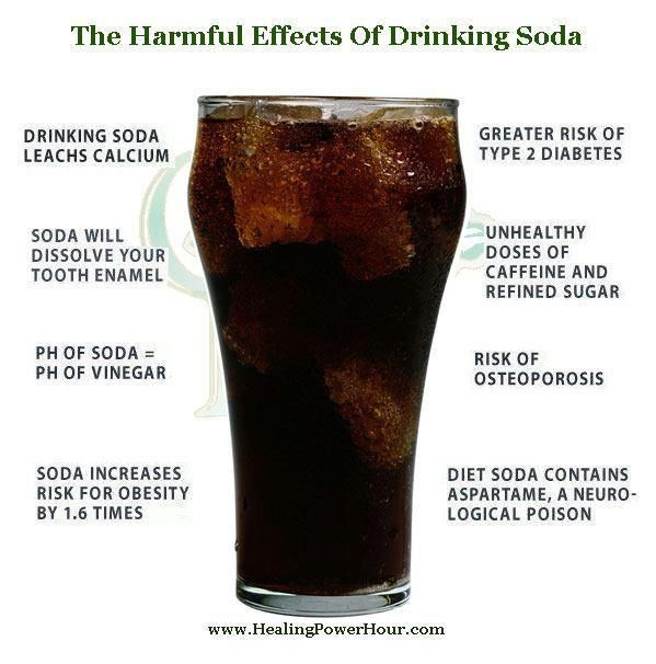 DON'T DRINK SODA: I need to remember this and all the headaches I get when kicking this awful habit!!!