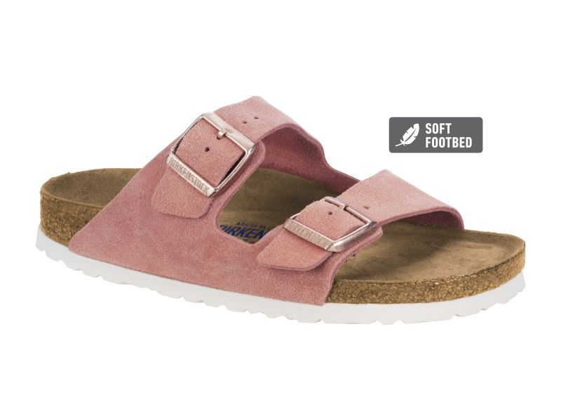 arizona suede soft footbed
