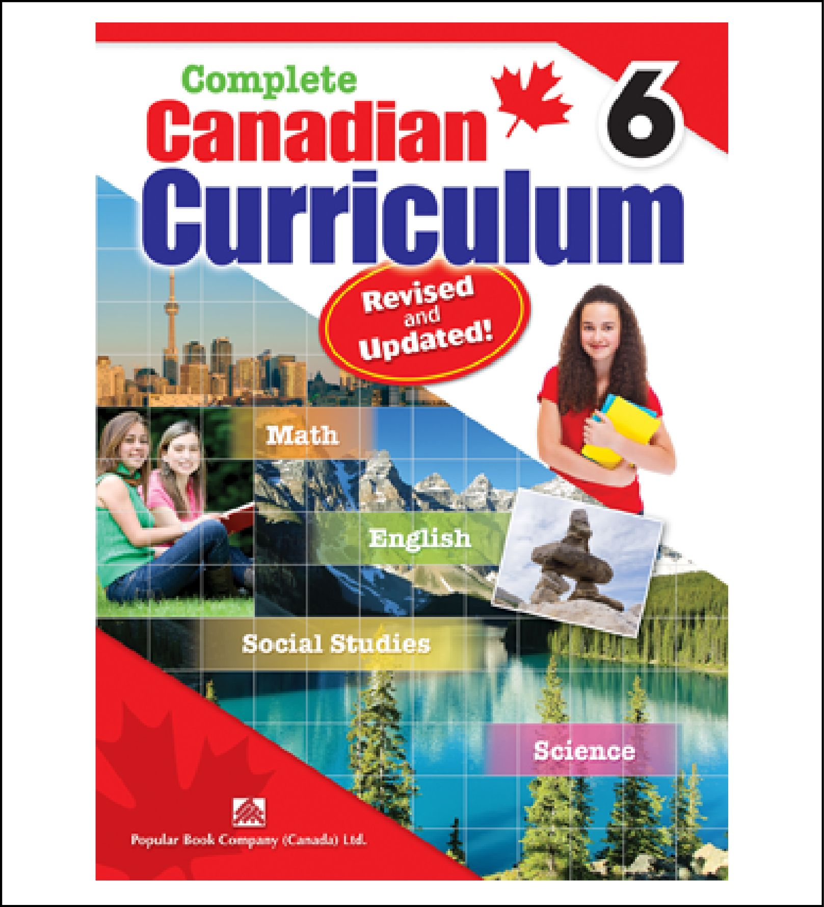 Workbook For Kids Complete Canadian Curriculum Grade 6 By