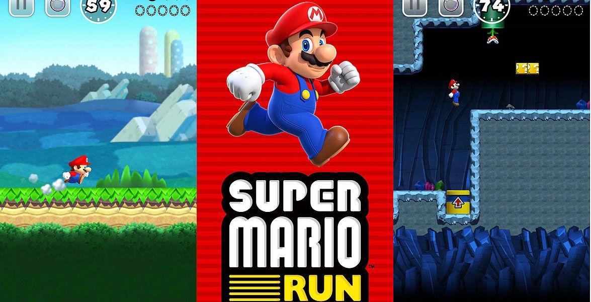 """Super Mario fürs iPhone - Nintendos Super Mario kommt zum ersten Mal aufs Smartphone. Am 15. Dezember erscheint """"Super Mario Run"""" für Apples iPhone und iPad."""