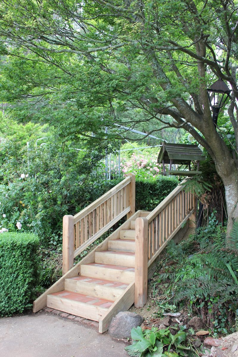 garden steps on a slope - Google Search | my summer garden ideas ...