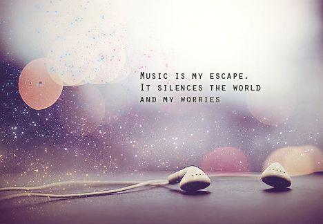 Music Quotes Tumblr Music Quotes Music Is My Escape Music Quotes Lyrics