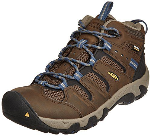 fbcd865b2e2 KEEN Men's Koven Mid WP Hiking Boot, Cascade Brown/Ensign Blue, M US ...