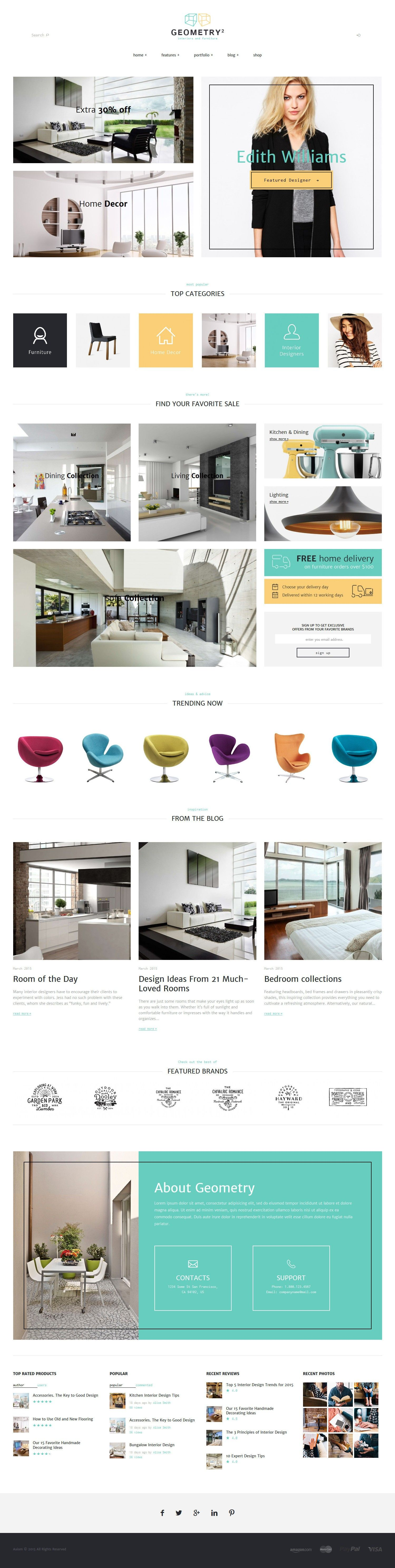 20 New Awesomely Design Premium Templates Of 27 March 2015