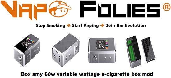 #Box #smy 60 watts avec #contrôle de #température – 68 €