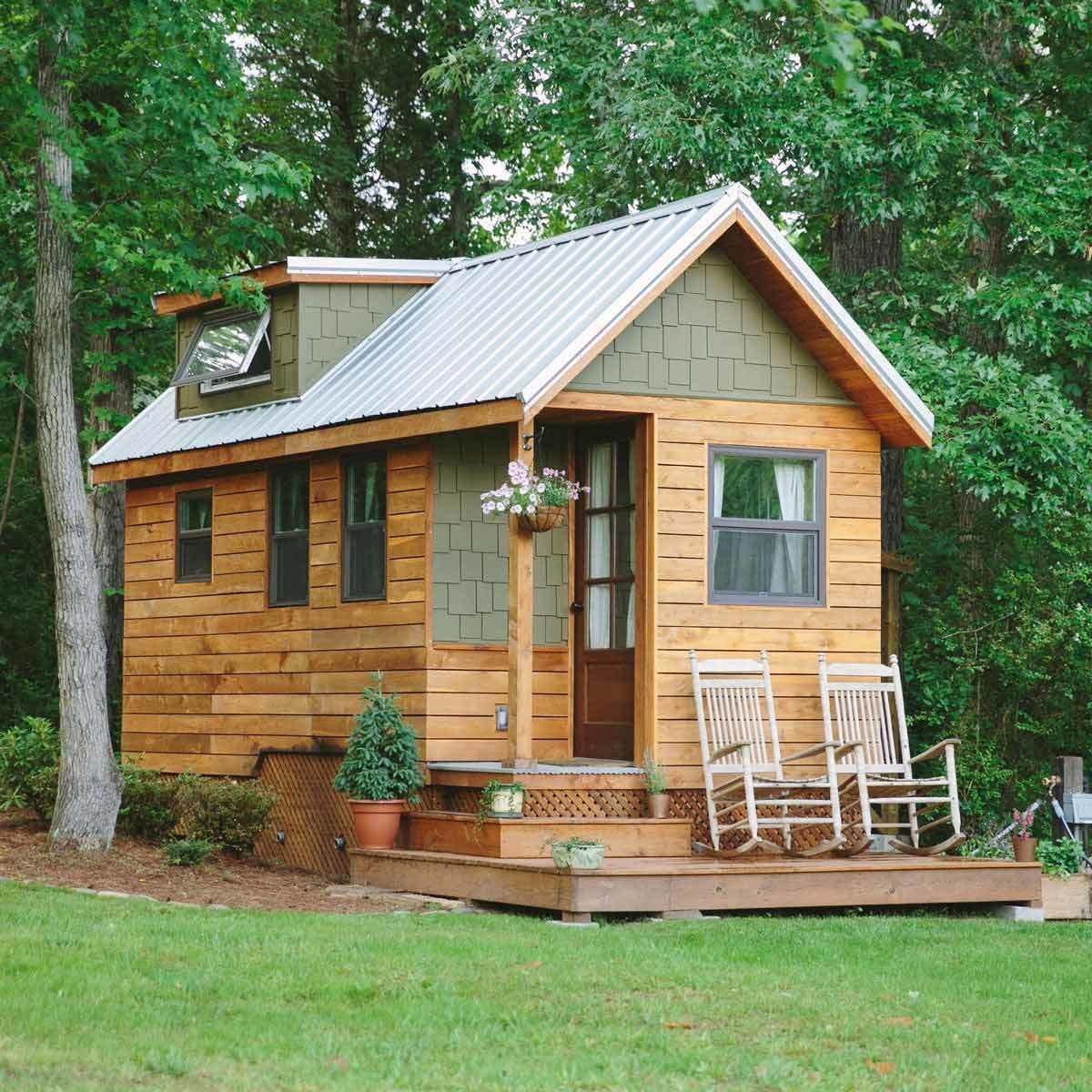Small Backyard Guest House Plans: Backyard Cottage, Wooden House