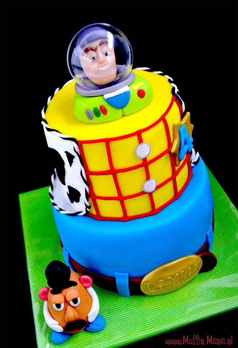 Birthday toys images  Toy Story for Bre  Cake walk  Pinterest  Cake Creative cakes