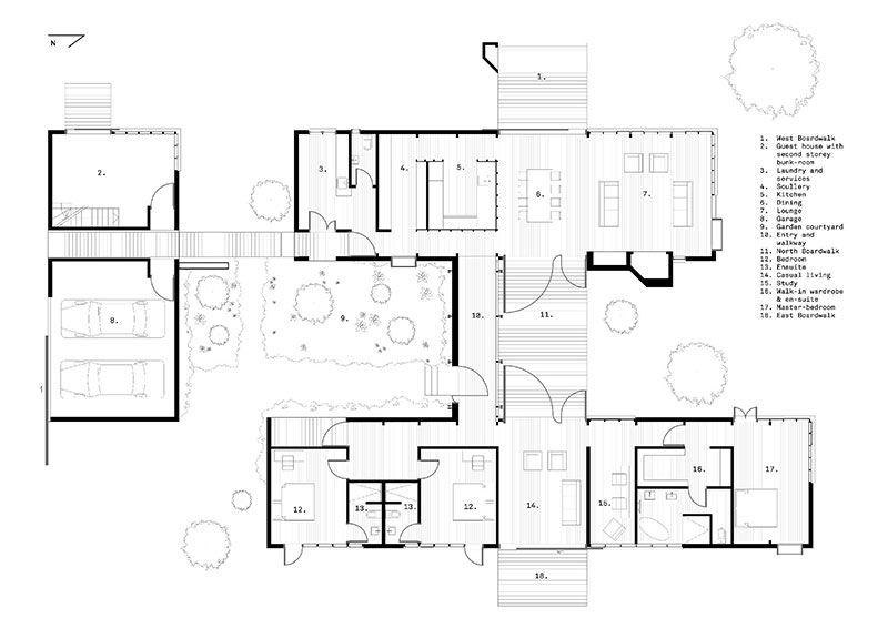 Prekrasnyj Dom Otdyha U Reki V Novoj Zelandii Foto Idei Dizajn Dom Steklyannye Steny Bolshie Okna
