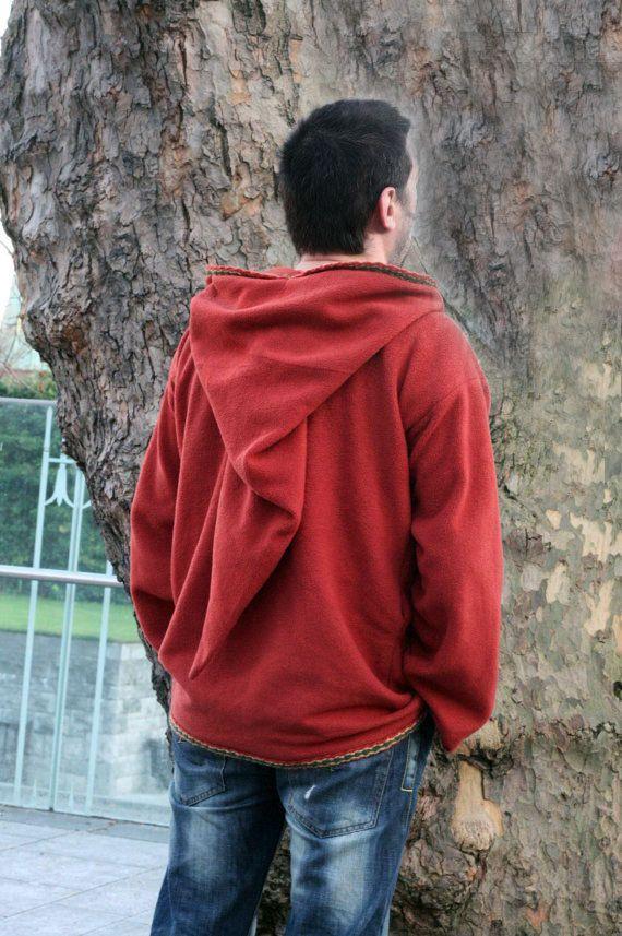 Medieval Pixie hoodie Black hippie elven hoodie Psy SCA festival rave hoodie - Gothic hoodie 6tehw7oZ0J