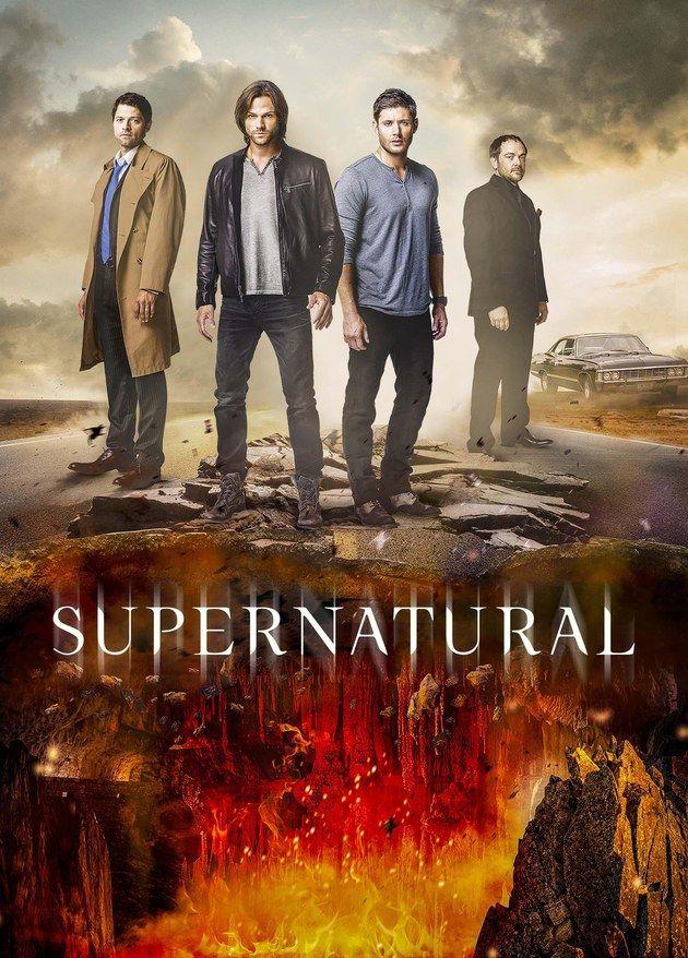 Supernatural Cartaz Oficial Da 12ª Temporada Da Serie