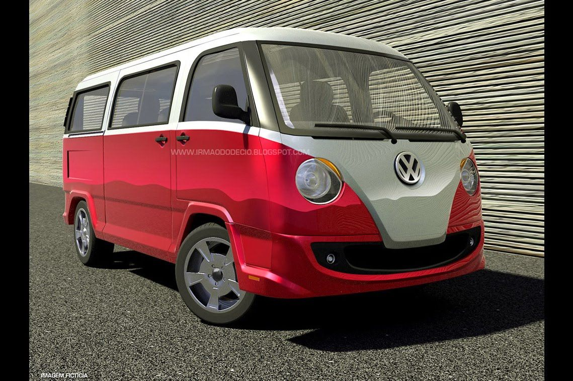 Unfortunately just a computer design exercise nostalgic styling take on 2015 volkswagen transporter carscoops