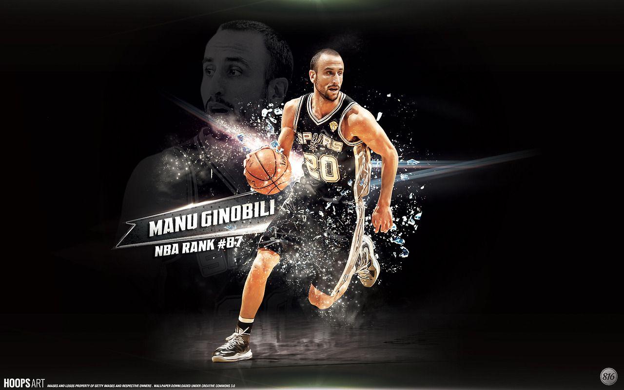 San Antonio Spurs Manu Ginobili Nba Wallpaper From Hoopsart Com Nba Wallpapers Manu Ginobili San Antonio Spurs