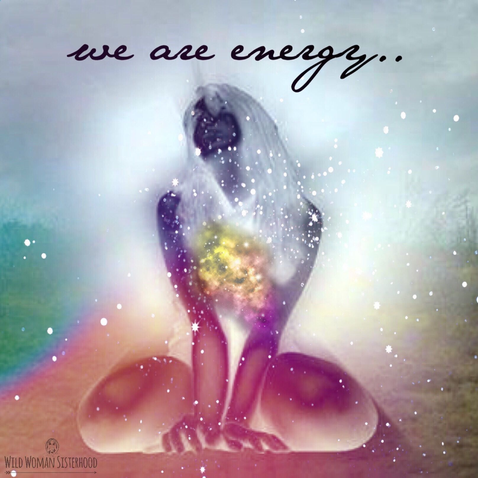 Vibrational Energy - life is energy ... people, animals, trees, flowers ... were all equal, we have different experiences of life, and yet were all the same, we are energy My long term illness is finally going away, and I think I might have found the love of my life.