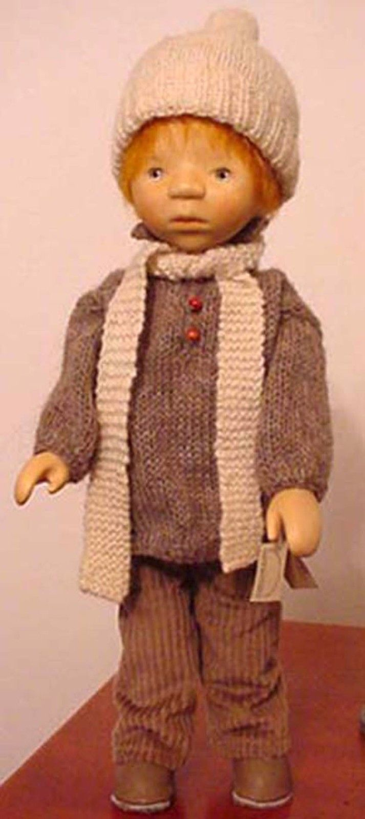 RARE Wooden Boy Doll by Elisabeth Pongratz Germany | eBay