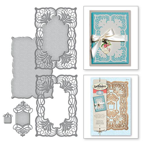 Spellbinders® is proud to offer the latest designs from the Amazing Paper Grace collection by Becca Feeken. This new line is royally beautiful and richly created, to add grace and elegance to any crea