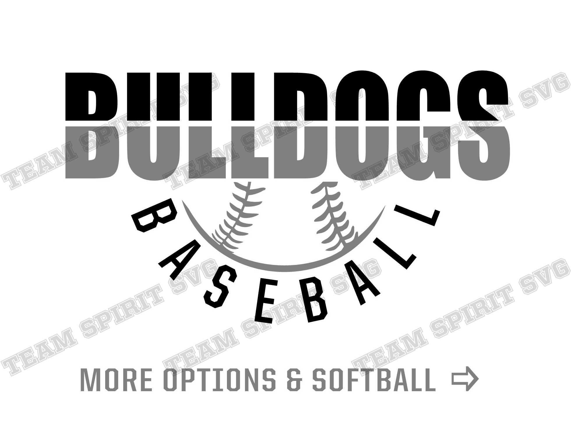 Bulldogs Baseball Svg Bulldog Softball Svg Download File Dxf Etsy In 2020 Softball Svg Baseball Svg Softball