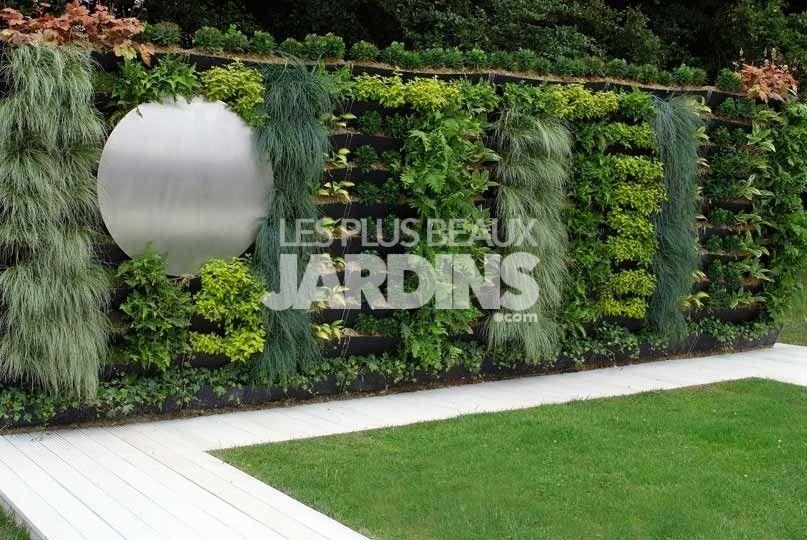 Emejing Decoration Jardin Mur Gallery - Ridgewayng.Com