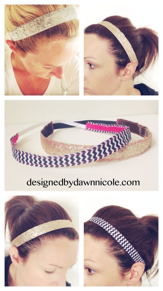 DIY Women s Non-Slip Headbands. Great for running and working out! 92dc7c4385