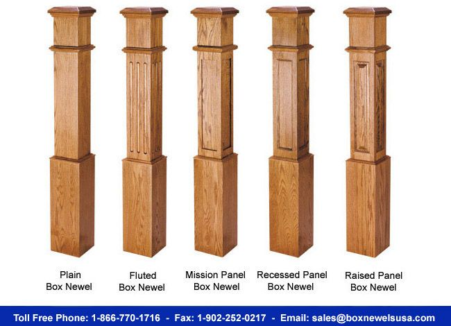 Box Newels Usa For Hardwood Box Newels Craftsman Square Newel Post Stair Newel Post Craftsman Staircase Interior Staircase