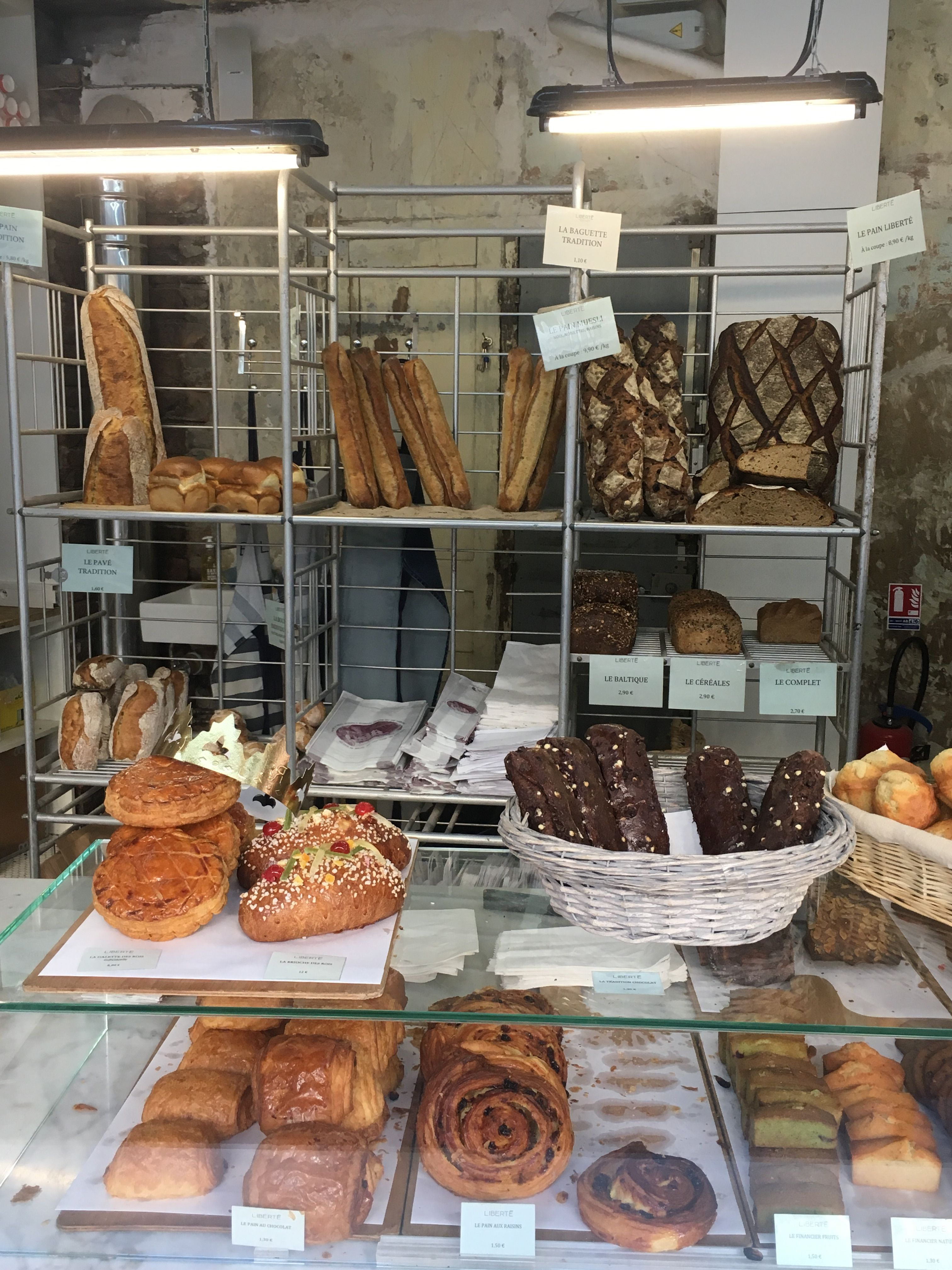 Bakery on Rue de Vinaigriers