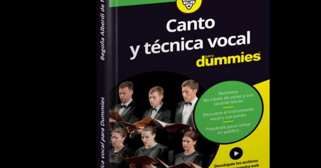 Canto Y Técnica Vocal Para Dummies Begoña Alberdi De Miguel Descargar Gratis Pdfcanto Y Técnica Vocal Para Dummies De Begoña Para Dummies Canto Musica Vocal