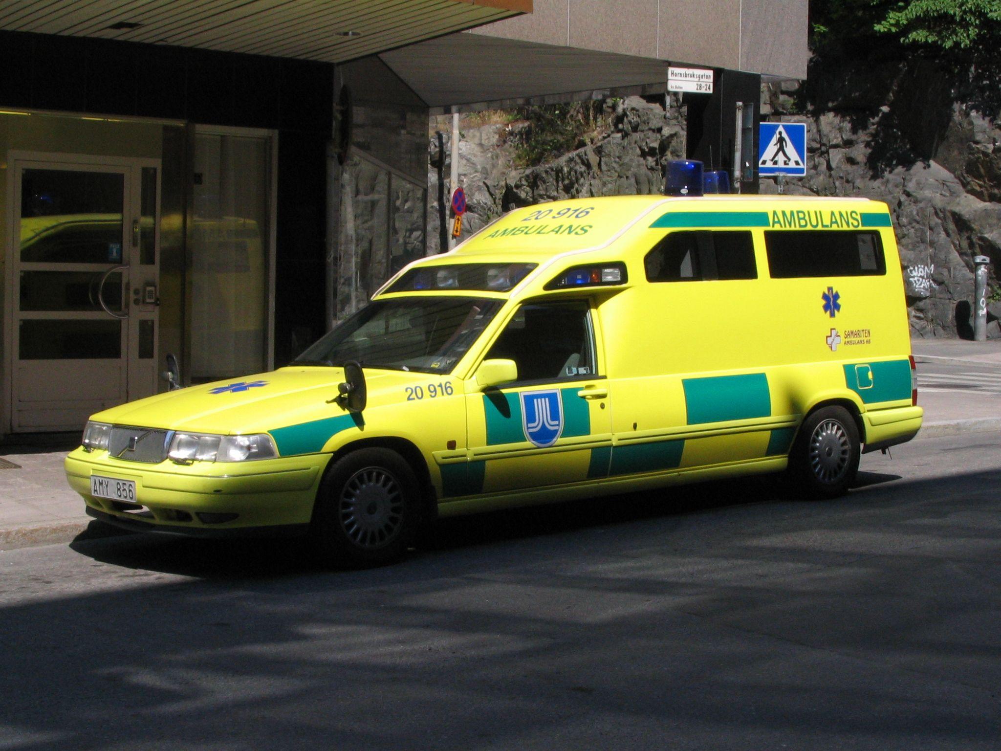 Volvo Ambulans Stockholm