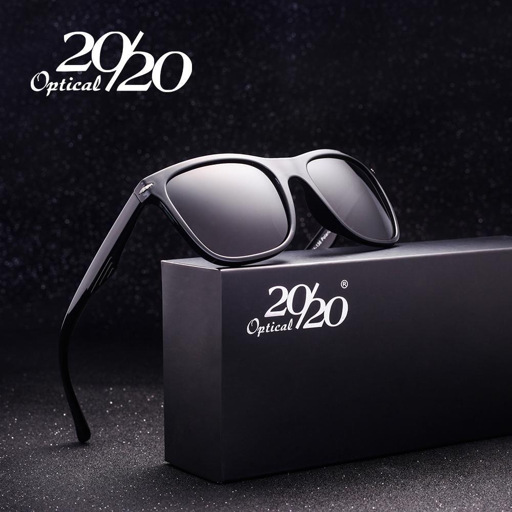 2ebb36c01e 20 20 Brand Designer Polarized Sunglasses Men Square Driving Sun Glasses  for Men oculos de