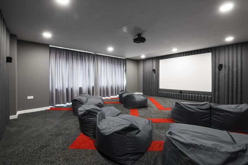 Southampton Austen House Student Accommodation Communal Cinema Room Rent Studio Bristol Personal Statement