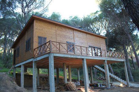 Cimientos estructuras hormig n hierro casa for Estructuras de hierro para casas