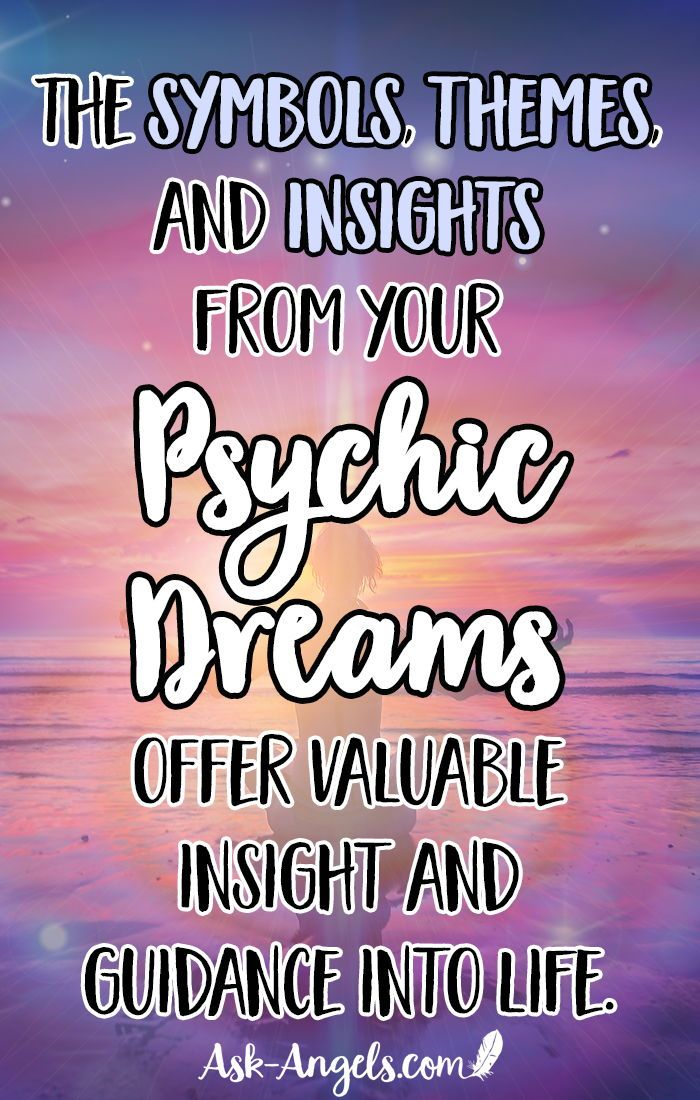 Psychic Dreams Do You Have Them Find Out Here Pinterest