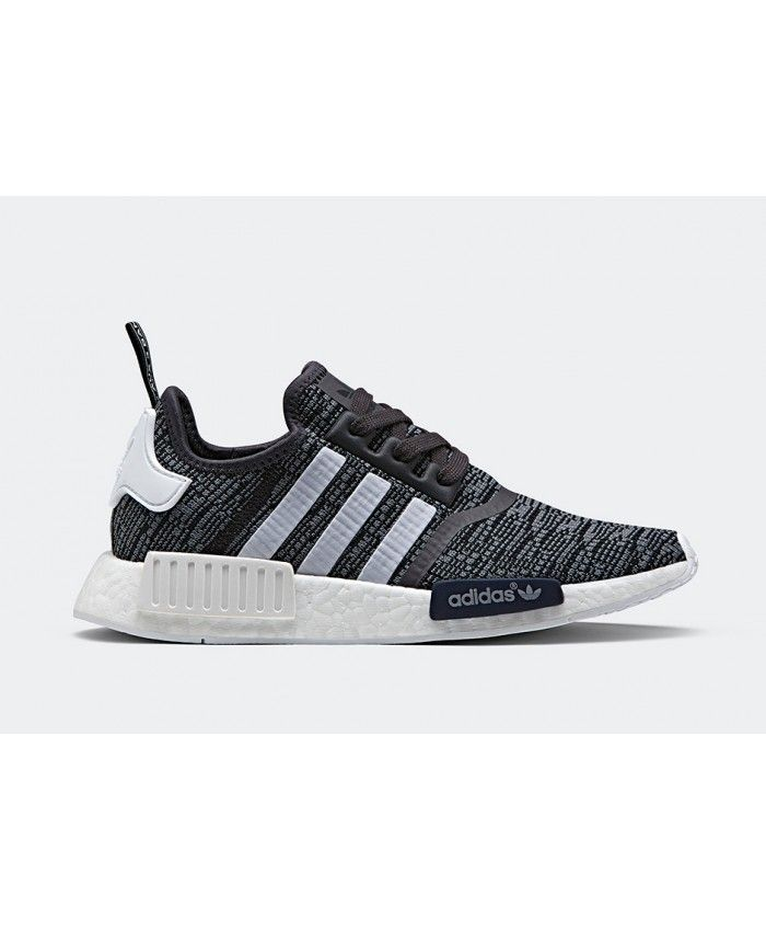 71417cb9768c4 Adidas NMD R1 Midnight Grey Collegiate Navy White Shoes R1 - Adidas NMD R1  UK
